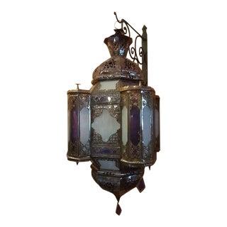 Moroccan Handmade Metal Lantern