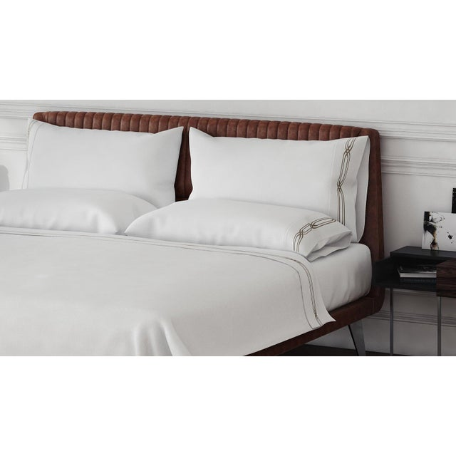 700 thread count, 100% extra long, extra fine combed cotton bedding for superior comfort while sleeping. Haute Couture...