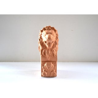 Vintage Terra Cotta Lion Box Preview
