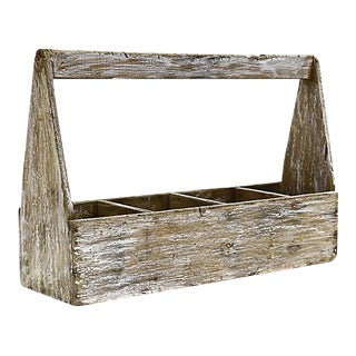 Antique French Garden Trug For Sale