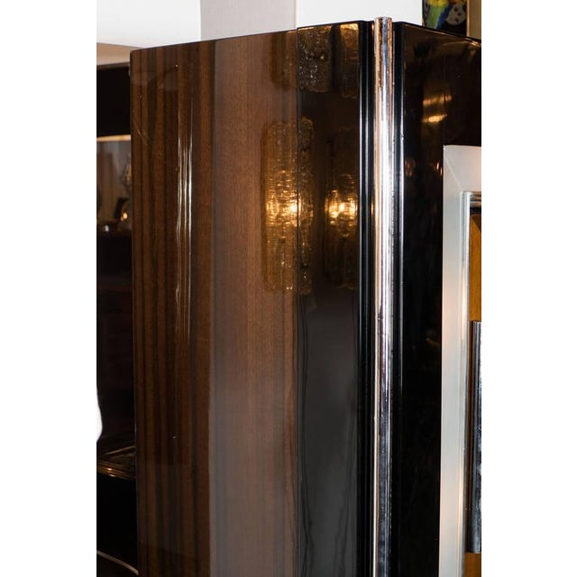 amazing black lacquer cabinets. Art Deco Bar Cabinet in Walnut and Black Lacquer the Manner of Donald  Deskey Incredible