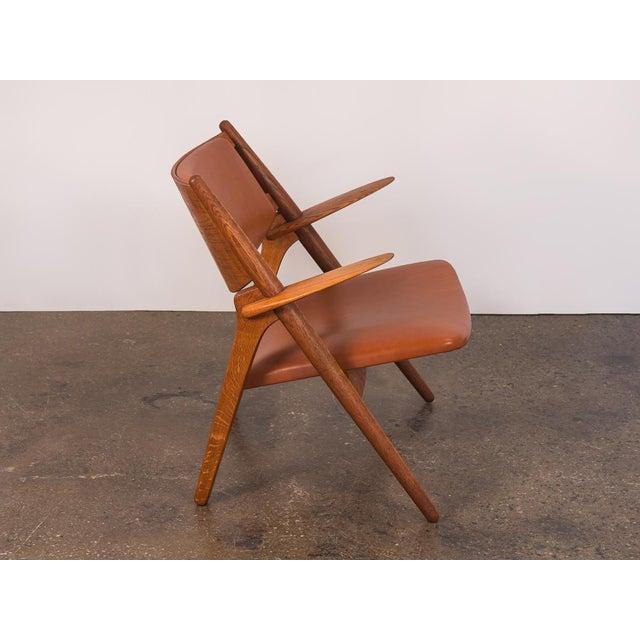 1960s Hans J. Wegner Ch-28 Armchair for Carl Hansen & Son For Sale - Image 5 of 12
