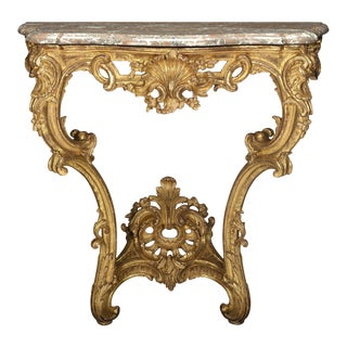 Louis XV-Style Console Table For Sale