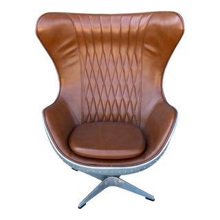Contemporary Modern Adjustable Aviation Club Chair For Sale