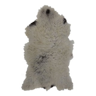 Contemporary Hand-Tanned Sheepskin Pelt - 2'0'' X 3'3'' For Sale