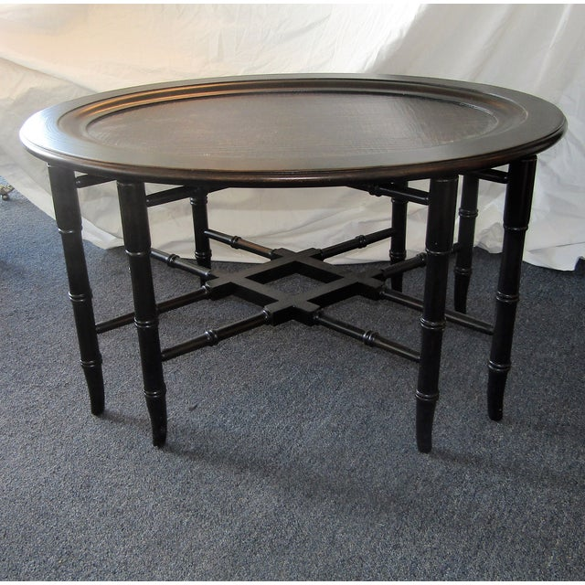 All Ethan Allen Coffee Tables: Ethan Allen Mirabelle Chinoiserie Coffee Table