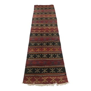 Anatolian Vintage Rug Runner-2x7'8 For Sale