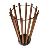 Image of 1960s Vintage Mid Century Modern Umbrella Stand For Sale