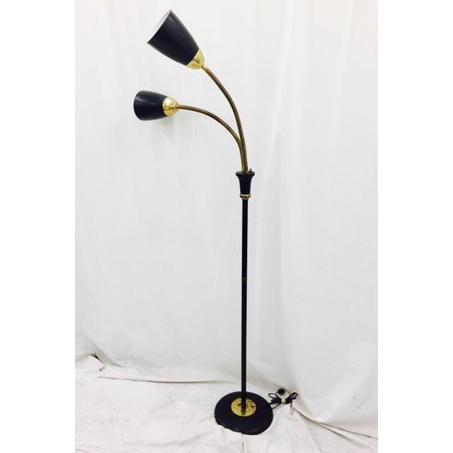 Gerald Thurston Lightolier Floor Lamp For Sale - Image 9 of 10
