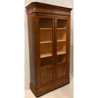 19th-C. Faux Bamboo Armoire Att. r.j. Horner and Co. Preview