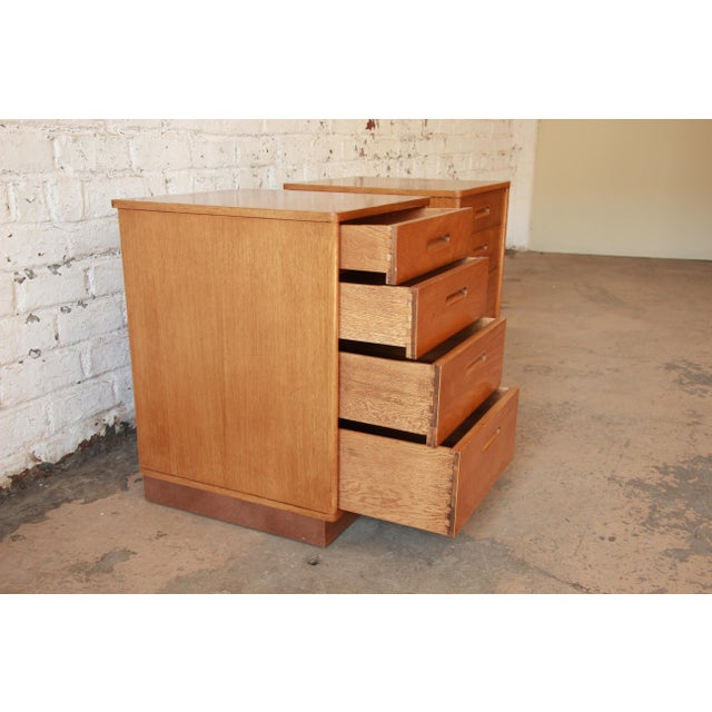 Edward Wormley for Dunbar Mid-Century Nightstands - a Pair - Image 7 of 11