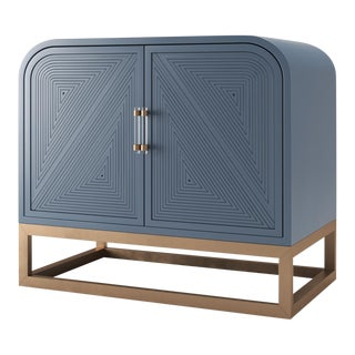 Avery Credenza - Newburyport Blue For Sale