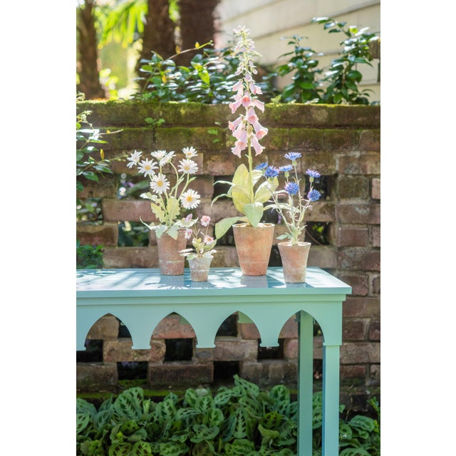 American Oomph Ocean Drive Outdoor Console Table, Blue For Sale - Image 3 of 7