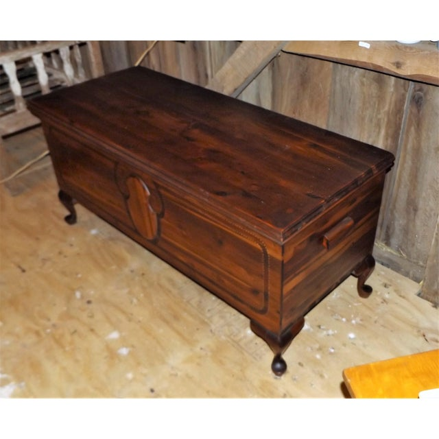 Lane Furniture Lane French Provincial Style Cedar Hope Chest For Sale - Image 4 of 9