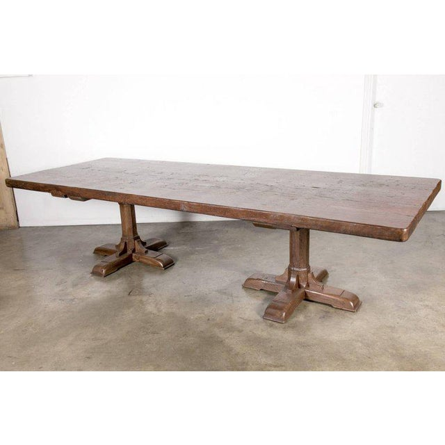 2c0874e2fb18 Copy of an 18th century French farmhouse table that we assemble in our  Birmingham workshop.