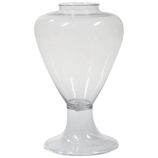Large 19th Century Blown Glass Apothecary Jar Vase