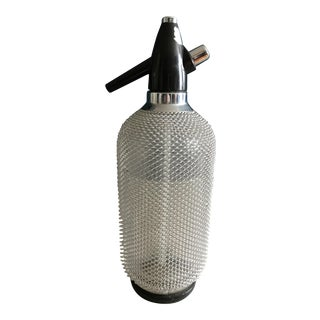 Mid-Century Modern Seltzer Bottle For Sale