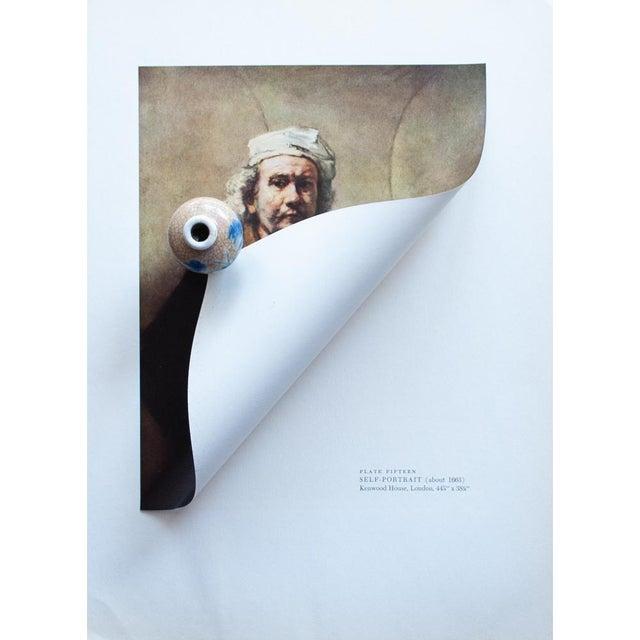 "1950s Rembrandt, ""Self-Portrait"" Vintage Photogravure For Sale - Image 4 of 8"