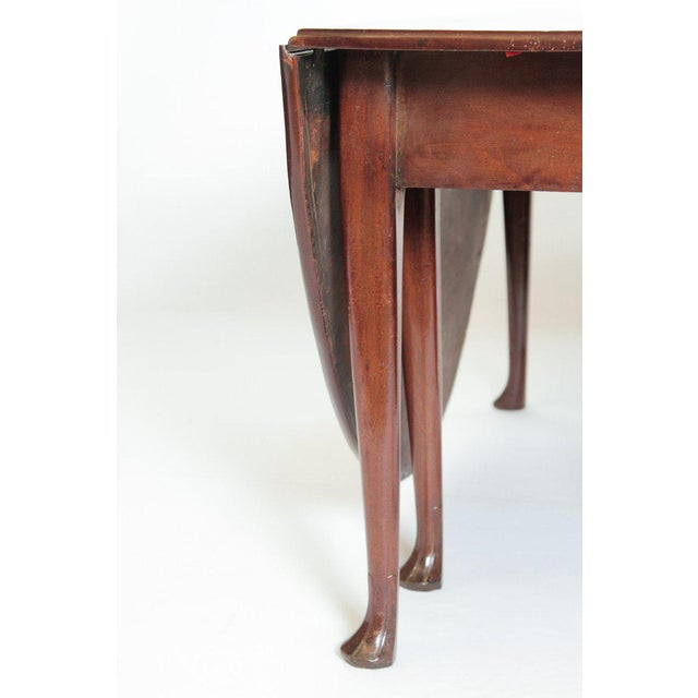 Mahogany George II Mahogany Dining Table With Spanish Feet For Sale - Image 7 of 13