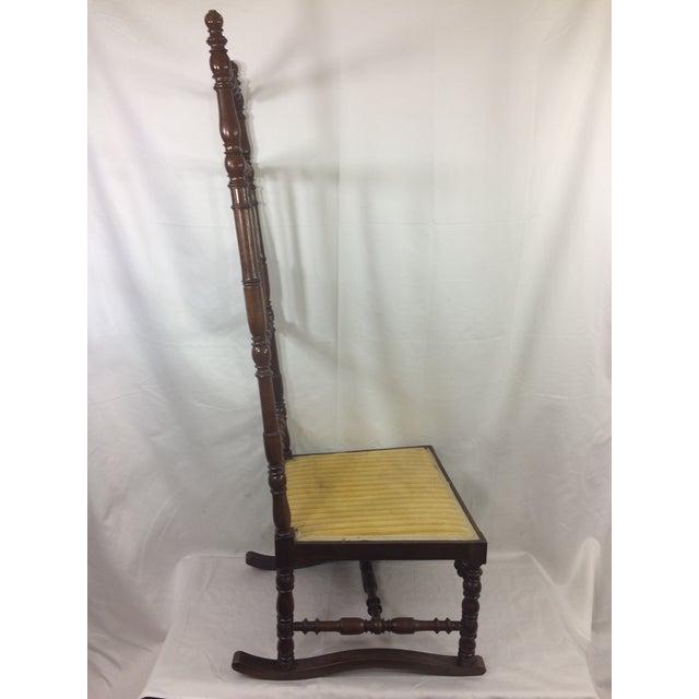 Napoleon III High Back Spindle Chair - Image 7 of 8