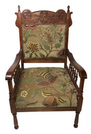 Image of Early American Bergere Chairs