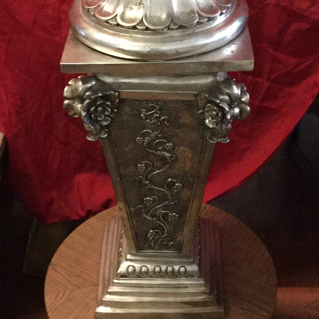 Silver Cup Sculpture - Image 6 of 11