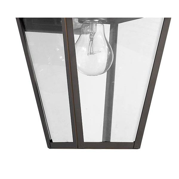 The French Quarter outdoor sconce brings the charm of Nola to your home. Takes 100W bulb.