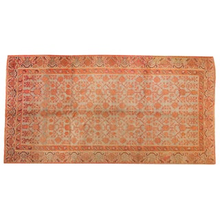 "Vintage Distressed Khotan Rug Runner - 5'7"" X 10'9"" For Sale"