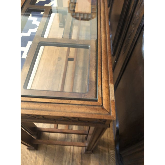 Henredon Vintage Chinoiserie Henredon Console Table For Sale - Image 4 of 7