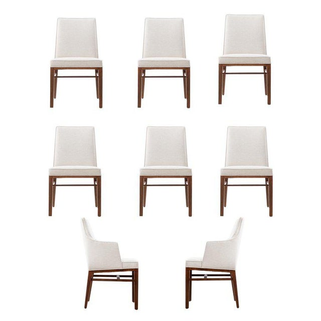 Edward Wormley Set of Six Dining Chairs For Sale - Image 13 of 13
