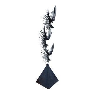 Curtis Jere Birds in Flight Sculpture