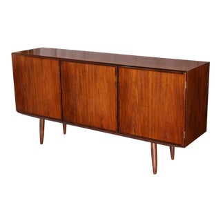 Gunni Omann Mid-Century Modern Credenza with 3 Cabinet Door Facade For Sale