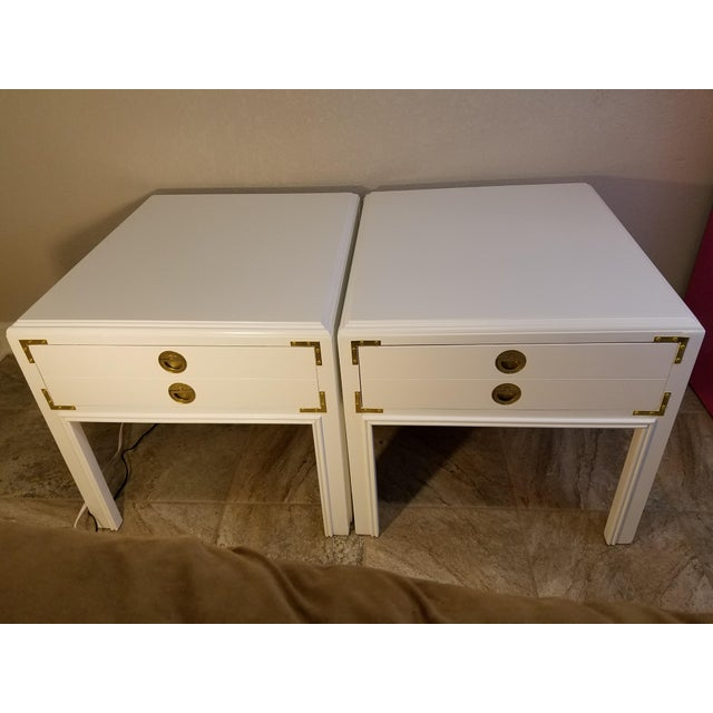 1970s Mid-Century Modern Drexel Side Tables - a Pair For Sale In Kansas City - Image 6 of 6