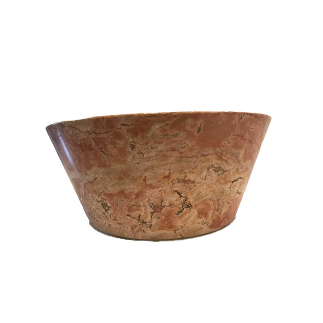 Antique Italian Marble Centerpiece Bowl or Planter For Sale In Nashville - Image 6 of 8