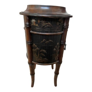 Ethan Allen Chinoiserie Round Accent Table For Sale