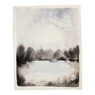 Large Abstract Landscape Painting by Katie White For Sale
