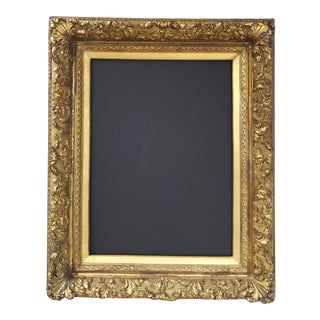 """19th Century High Relief Gilt Frame 22 3/4"""" X 30 5/8"""" For Sale"""
