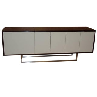 Nathan Flip-Top Media Console For Sale