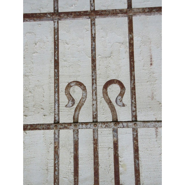 Antique Victorian Iron Architectural Salvage Element For Sale In Philadelphia - Image 6 of 6