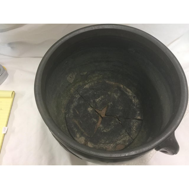 Bronze Antique Bronze Japanese Censer Brazier For Sale - Image 7 of 9