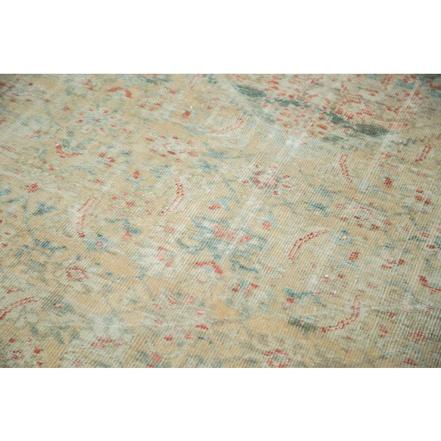 """Late 19th Century Distressed Antique Sultanabad Carpet - 9' X 12'5"""" For Sale - Image 5 of 10"""