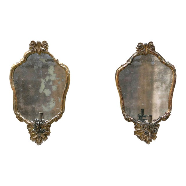 North Italy, C. 1730 , Pair of Mirrors For Sale - Image 13 of 13