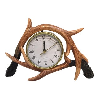 Antler Clock For Sale