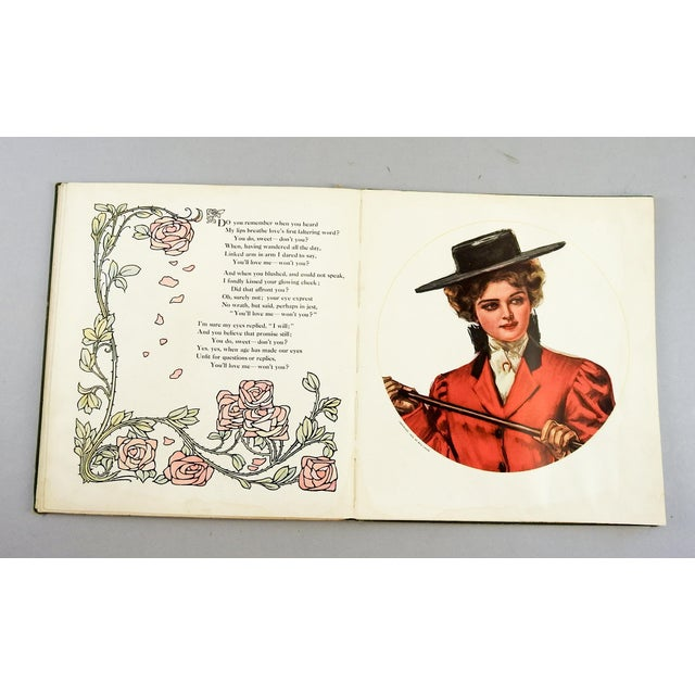 """""""A Book of Sweethearts"""" 1908 Book For Sale - Image 9 of 11"""