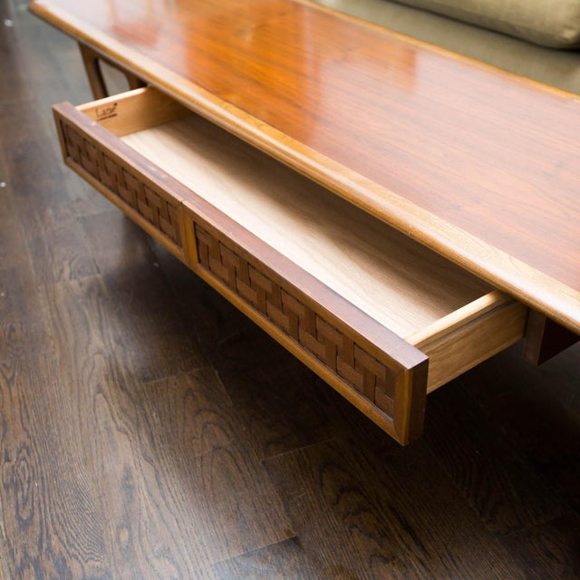 Lane Perception Coffee Table in Walnut - Image 5 of 11