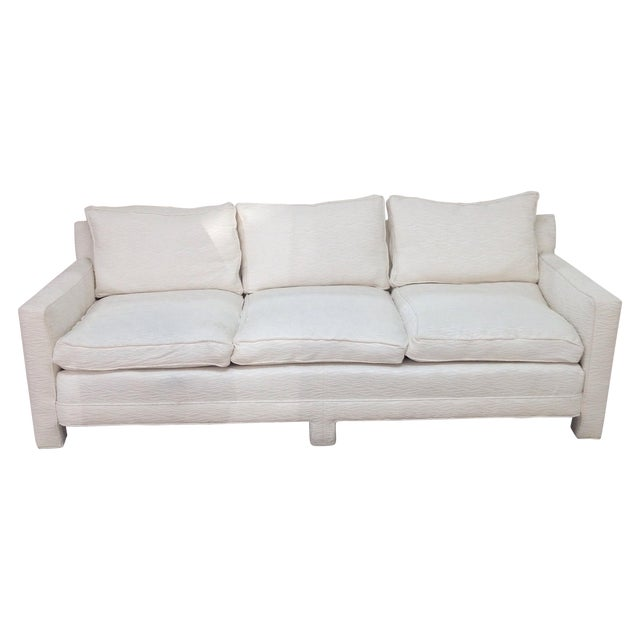 Mid Century Sofa With New Upoholstery - Image 1 of 6