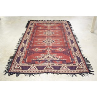 Flat Woven Dhurrie Throw Rug Preview
