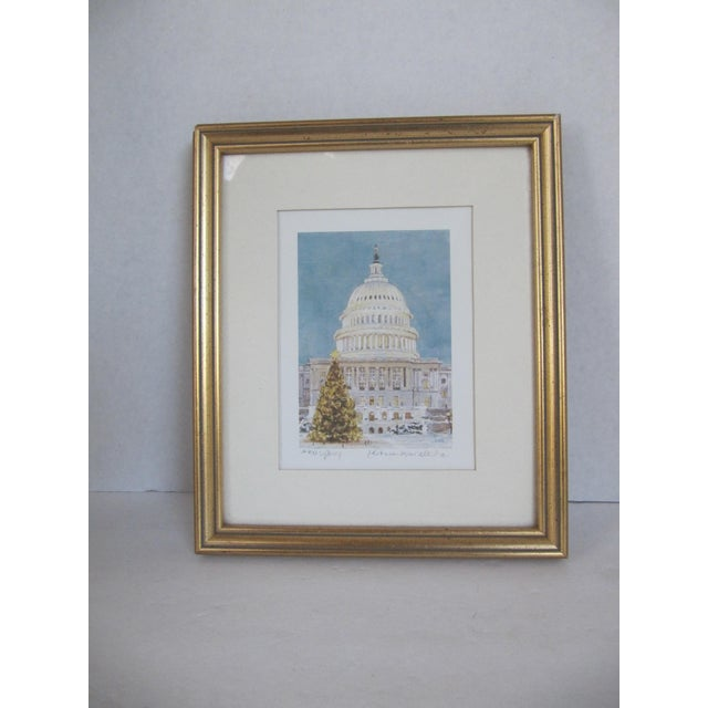 Christmas at the Capitol, Artist Proof - Image 5 of 8