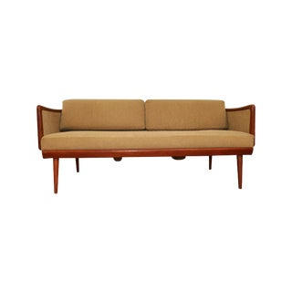 Mid Century Danish Peter Hvidt and Orla Mølgaard Daybed Model Fd451 For Sale