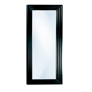 Arnaud Leaner Mirror in Matte Black For Sale